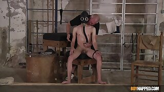 Serious gay maledom for naked twink in all directions his 20s