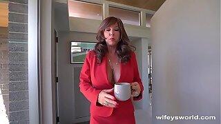 My Wife's Hot Breast-feed Swallowed My Cum