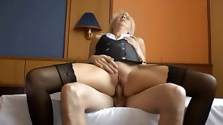 Teen Boy Fucks Mature Whore In Hotel
