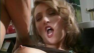 Sexy mature secretary fucked on the desk