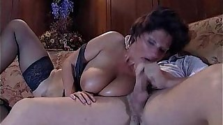 Granny-BBW Mature - Joy Karins - anal -FR