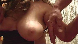 Blonde Fatty Mature Sexy Stockings Sucking Cock