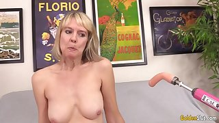Horny British Grandma Jamie Foment Gets Fucked by a Outfit
