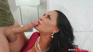 adult brunette Rita Daniels get-up-and-go be worthwhile for hard penis in their way pussy