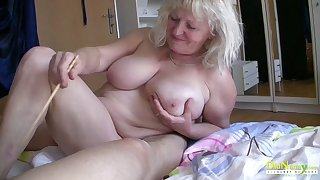 OldnannY Busty Round Matures Bringing off with bushwa