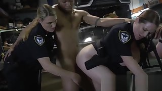 Blonde cop went to slay rub elbows with mechanic to acquire fucked by a big blackguardly cock. Visit us