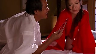 Enticing asian mama Yuri Shibasaki in ultra glam charm fun