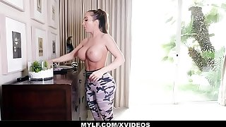 MYLF - Thick Mature Milf Has Hard Rough Sex With Say no to Stepson