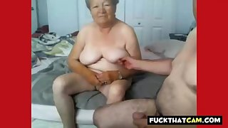 Granny and grandpa naked essentially cam
