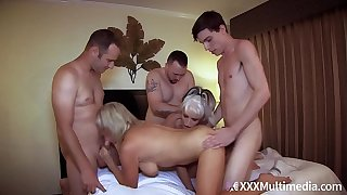 Mother Has An Orgy With Son and His Friends feat Payton Mansion
