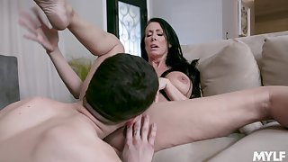 Tight mature adores the young dong regarding her tight holes