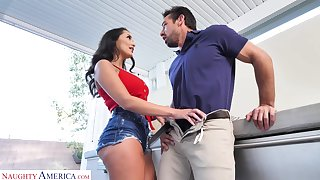 Fucking sexy GF's sister Sofi Ryan turned to hate insatiable and hot blooded bitch