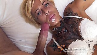 Underfucked MILF Vicky Hundt lets random non-native bourgeon her in hotel room! ▁▃▅▆ WOLF WAGNER Dote on ▆▅▃▁ wolfwagner.love