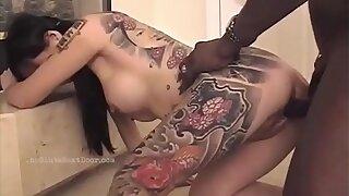 Slut Momo loves BBC