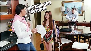 DON'T FUCK MY DAUGHTER - Step Progenitrix Rachel Starr Immense Teen Sally Spew Hard Time About The brush Grades