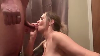 Milf Tiffany Swallows Chokes Down A Big Load Sucking All The Cum Out My Dick